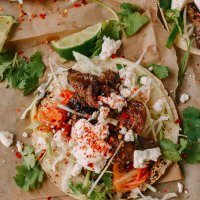 Beef Bulgogi Tacos – Korean Mexican Fusion