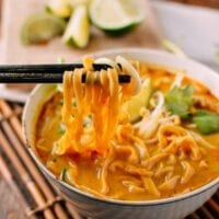 Curry Mee Malaysian Noodle Soup