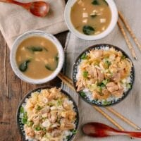 Oyakodon (Japanese Chicken & Egg Rice Bowls)