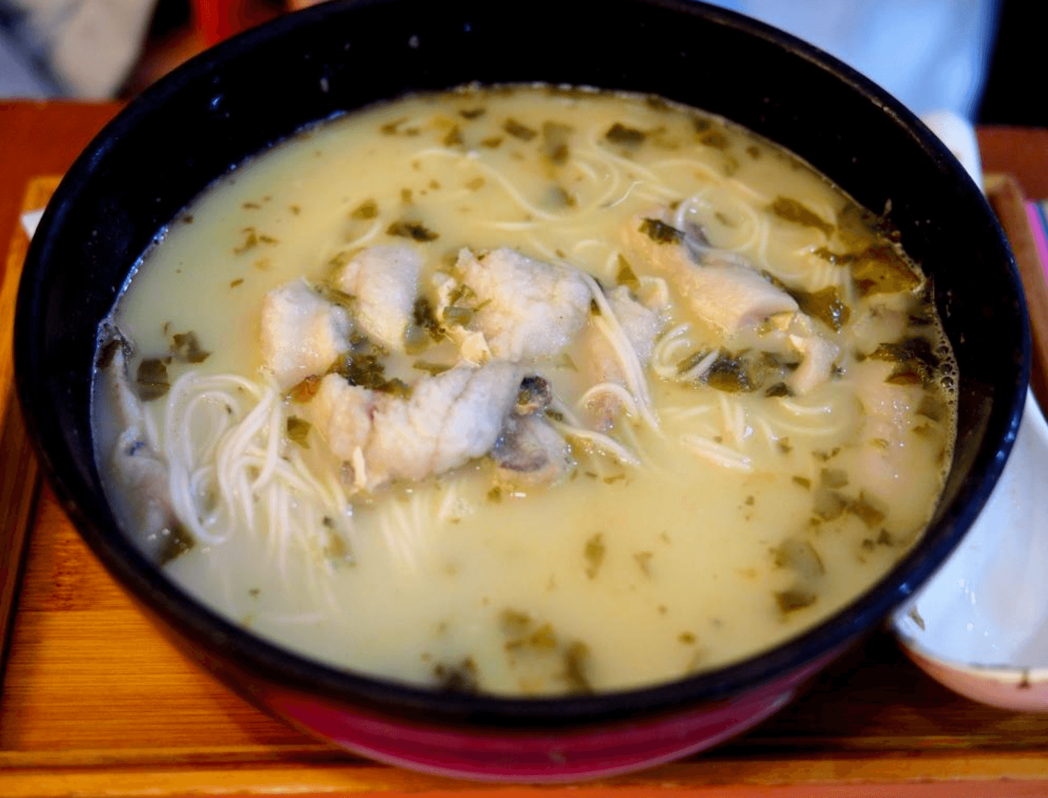 Good Eats in Shanghai: A Culinary Tour of Shanghai Cuisine - yellow croaker noodle soup, by thewoksoflife.com