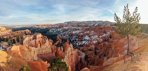 Bryce Canyon Snow