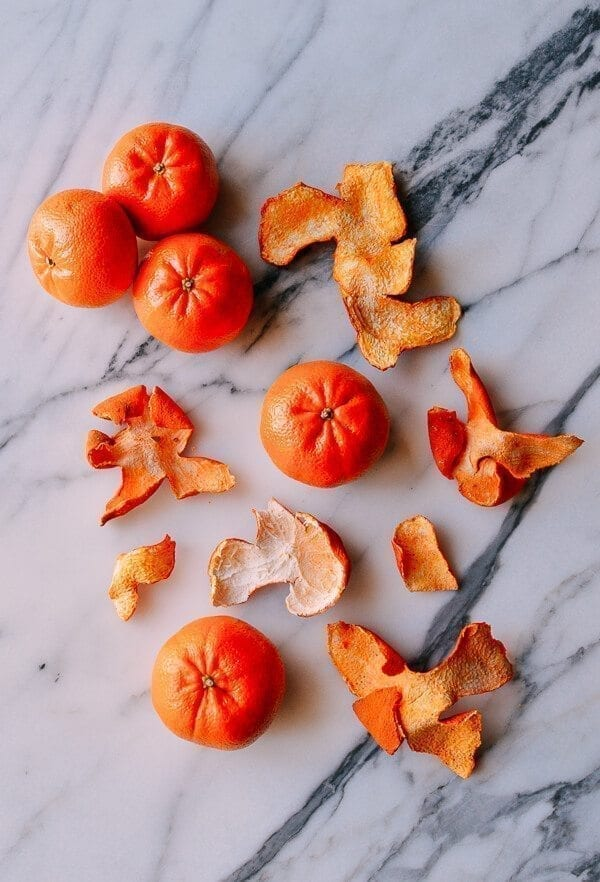 How to Make Dried Tangerine Peel for Chinese Cooking, by thewoksoflife.com