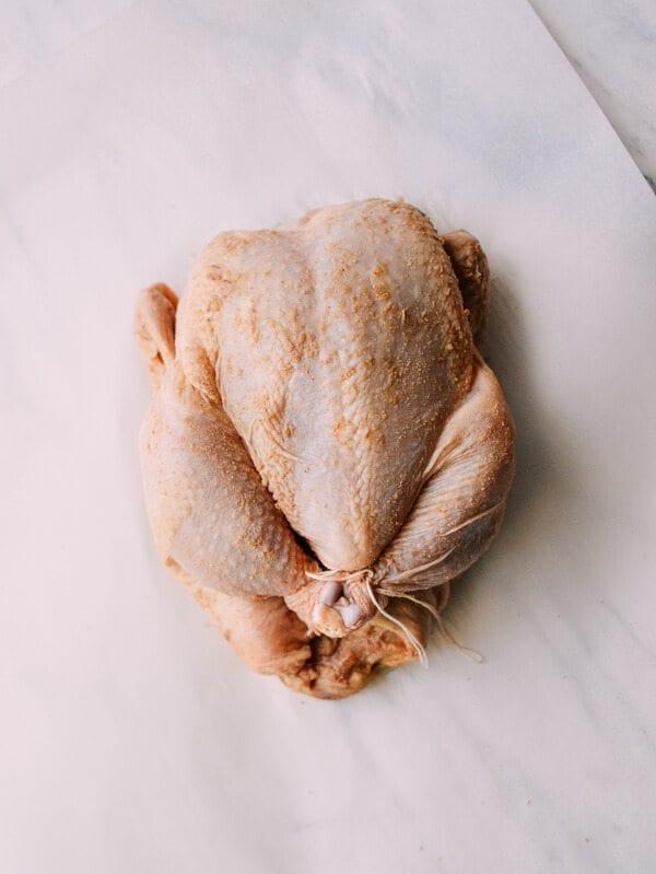 Salt Baked Chicken, by thewoksoflife.com