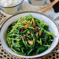 Ong Choy with XO sauce