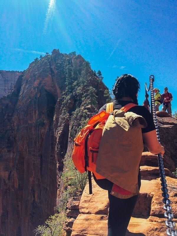 Hiking Angel's Landing, by thewoksoflife.com