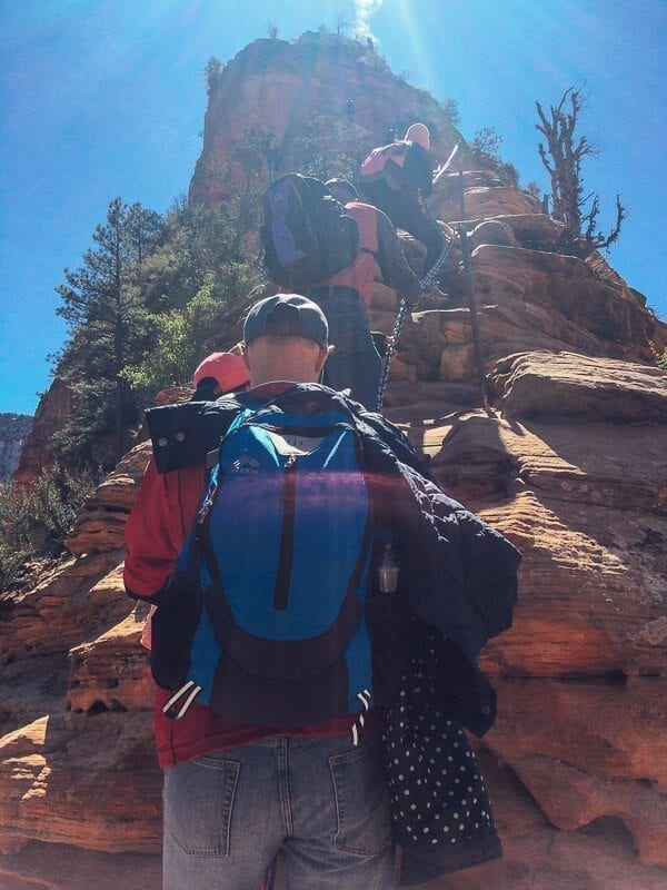A Crowded Angel's Landing