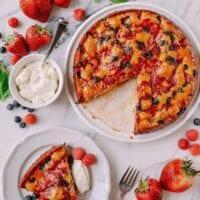 Basil Berry Cake