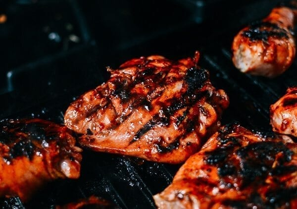 """Char Siu"" Grilled Chicken, by thewoksoflife.com"