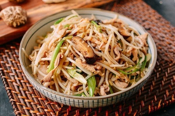 Chicken and Bean Sprouts, by thewoksoflife.com