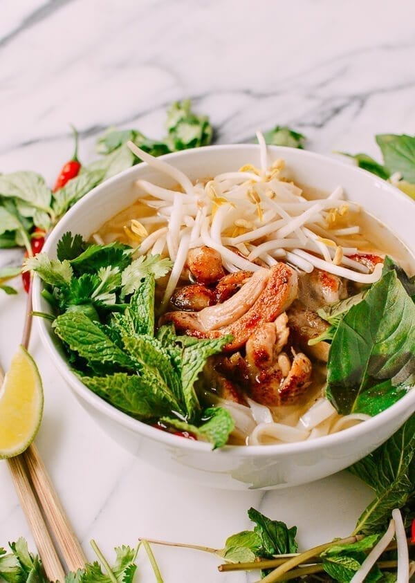 20-Minute Chicken Pho, by thewoksoflife.com