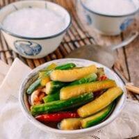 Chinese Pickled Cucumbers (酱黄瓜)