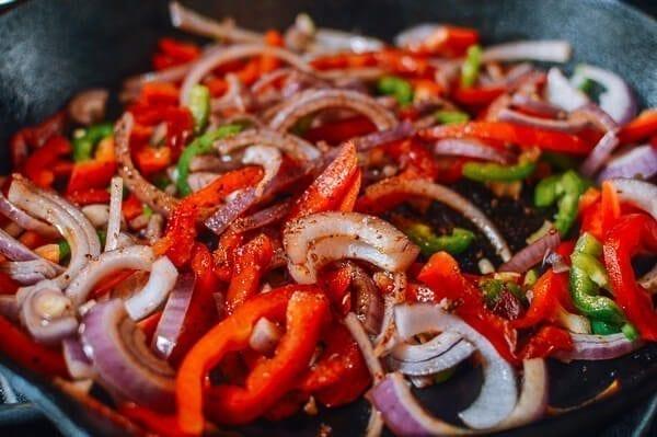 Cumin Lamb Burgers, by thewoksoflife.com