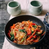 Japchae – A Korean Noodle Stir Fry Favorite