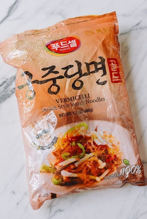 Package of Korean Glass Noodles, thewoksoflife.com