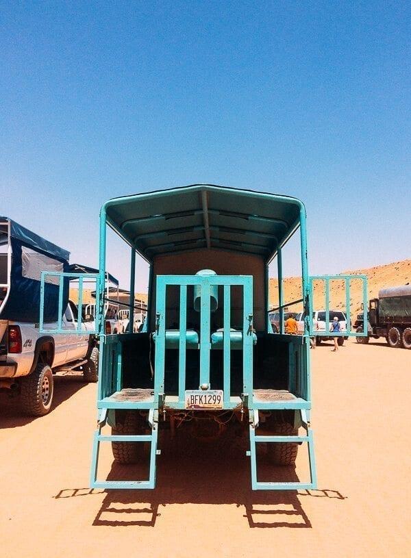 Navajo Tour Truck, by thewoksoflife.com