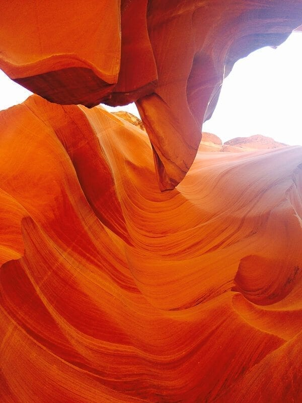 Antelope Canyon, by thewoksoflife.com