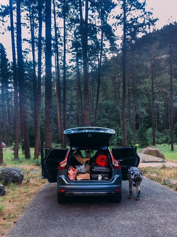 Pine Flat Campground, by thewoksoflife.com