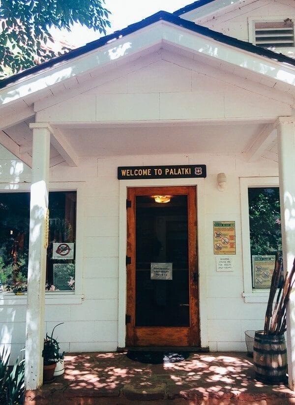 Palatki Visitor Center, by thewoksoflife.com