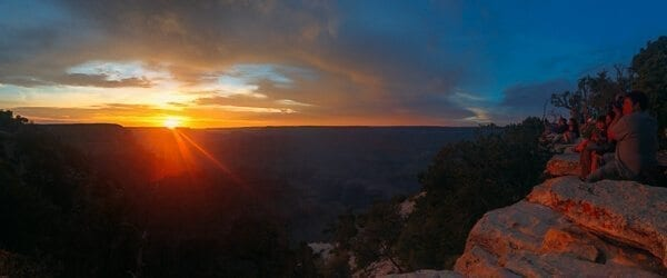 Grand Canyon Sunset, by thewoksoflife.com