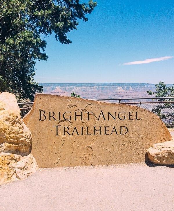 Bright Angel Trailhead, by thewoksoflife.com