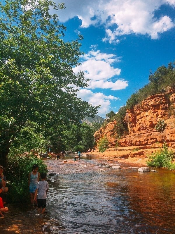 Slide Rock State Park, by thewoksoflife.com