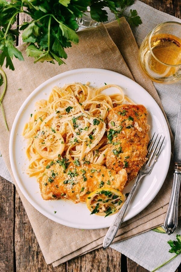 Chicken Francese An Italian American Classic The Woks Of Life