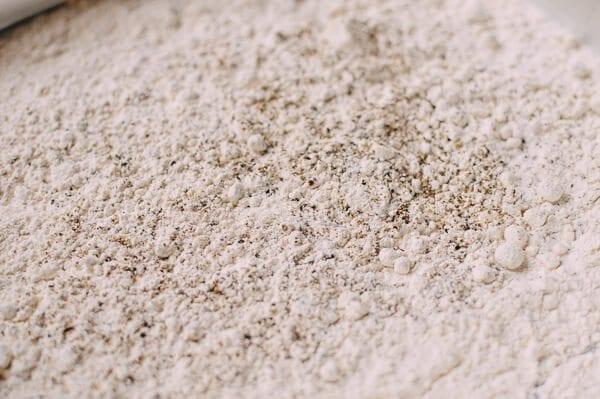 Seasoned Flour, by thewoksoflife.com