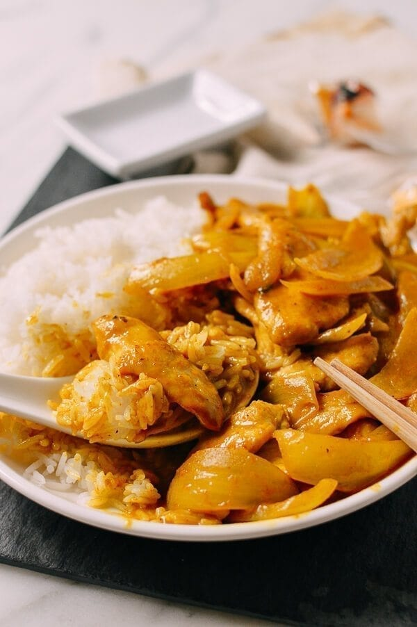 15-Minute Chicken Curry, Takeout-Style