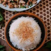 Coconut Rice, by thewoksoflife.com