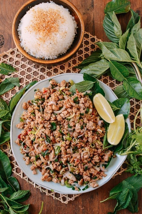 Pork Larb, The National Dish of Laos