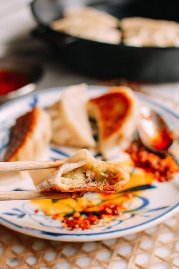 Chicken Zucchini Dumplings, by thewoksoflife.com