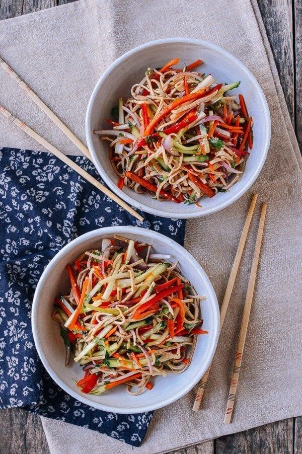 Chinese Tofu Salad, by thewoksoflife.com