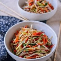 Chinese Tofu Salad, by thewoksoflife.com