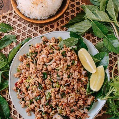 Pork Larb, The National Dish of Laos | The Woks of Life
