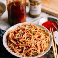 10-Minute Sesame Noodles (麻酱面)
