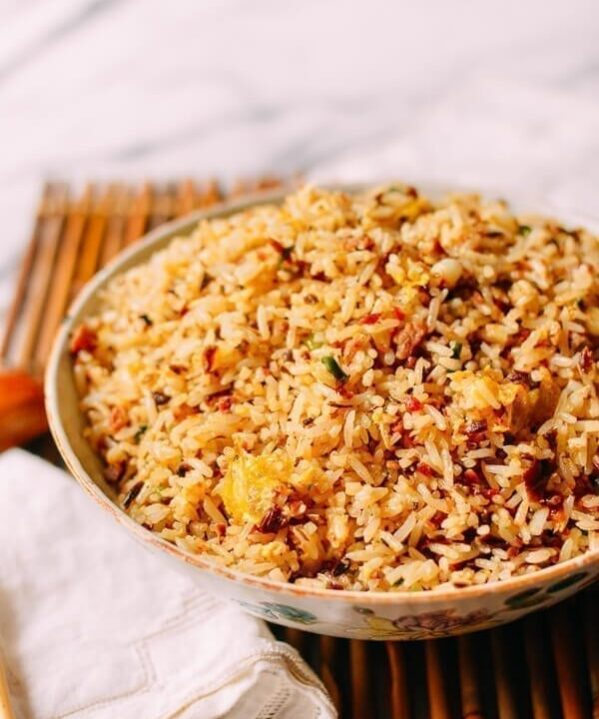 Chengdu-Style Sichuan Fried Rice, by thewoksoflife.com