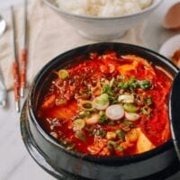 Soondubu Jigae (Korean Soft Tofu Stew)