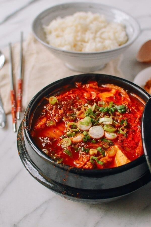 Soondubu Jigae Korean Soft Tofu Stew The Woks Of Life