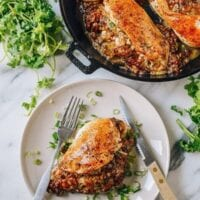 Sticky Rice Stuffed Chicken Breast