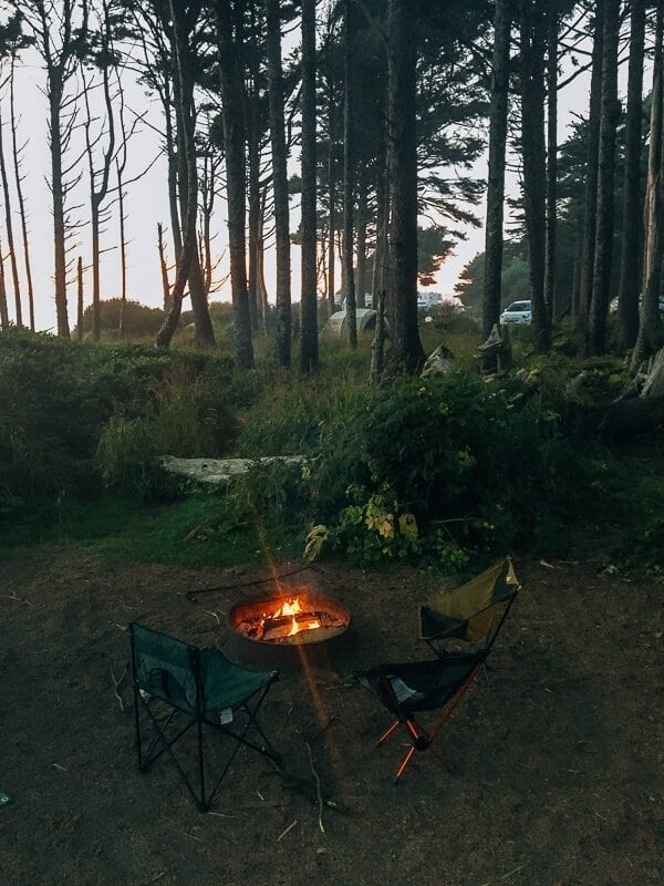 Kalaloch Campground, by thewoksoflife.com