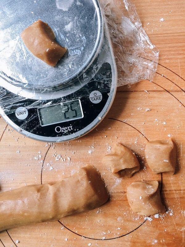 Ham and Nut Mooncake Recipe, by thewoksoflife.com