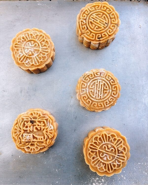 Ham and Nut Mooncake Recipe, by thewoksoflife.com