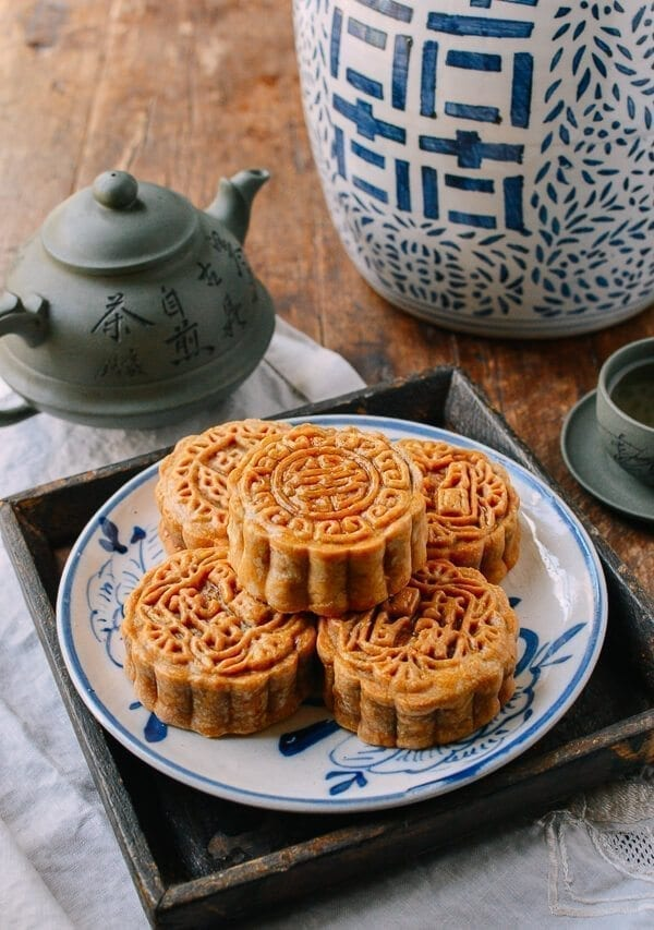 Ham & Nut Mooncake Recipe, by thewoksoflife.com