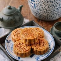 Ham and Nut Mooncake Recipe (Wu Ren Yue Bing)