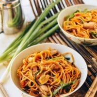 Ginger Scallion Hokkien Noodles