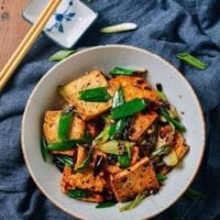Tofu with Black Bean Sauce – A Vegan's Delight