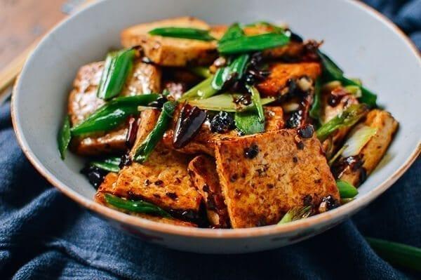 Tofu with Black Bean Sauce, by thewoksoflife.com