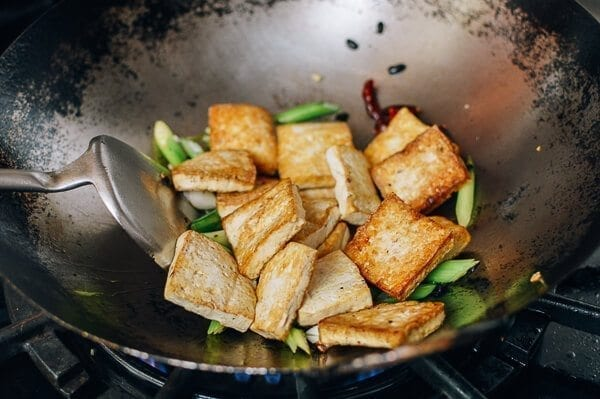 Tofu with Black Bean Sauce, by thewoksoflife.com