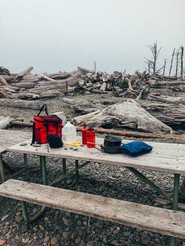 Camping Meals, by thewoksoflife.com