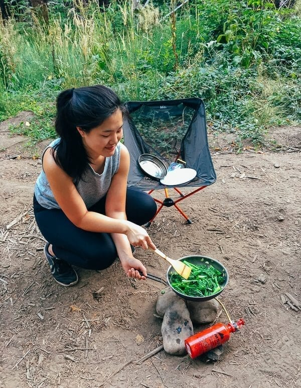 Camping Meals, by thewoksoflife.com